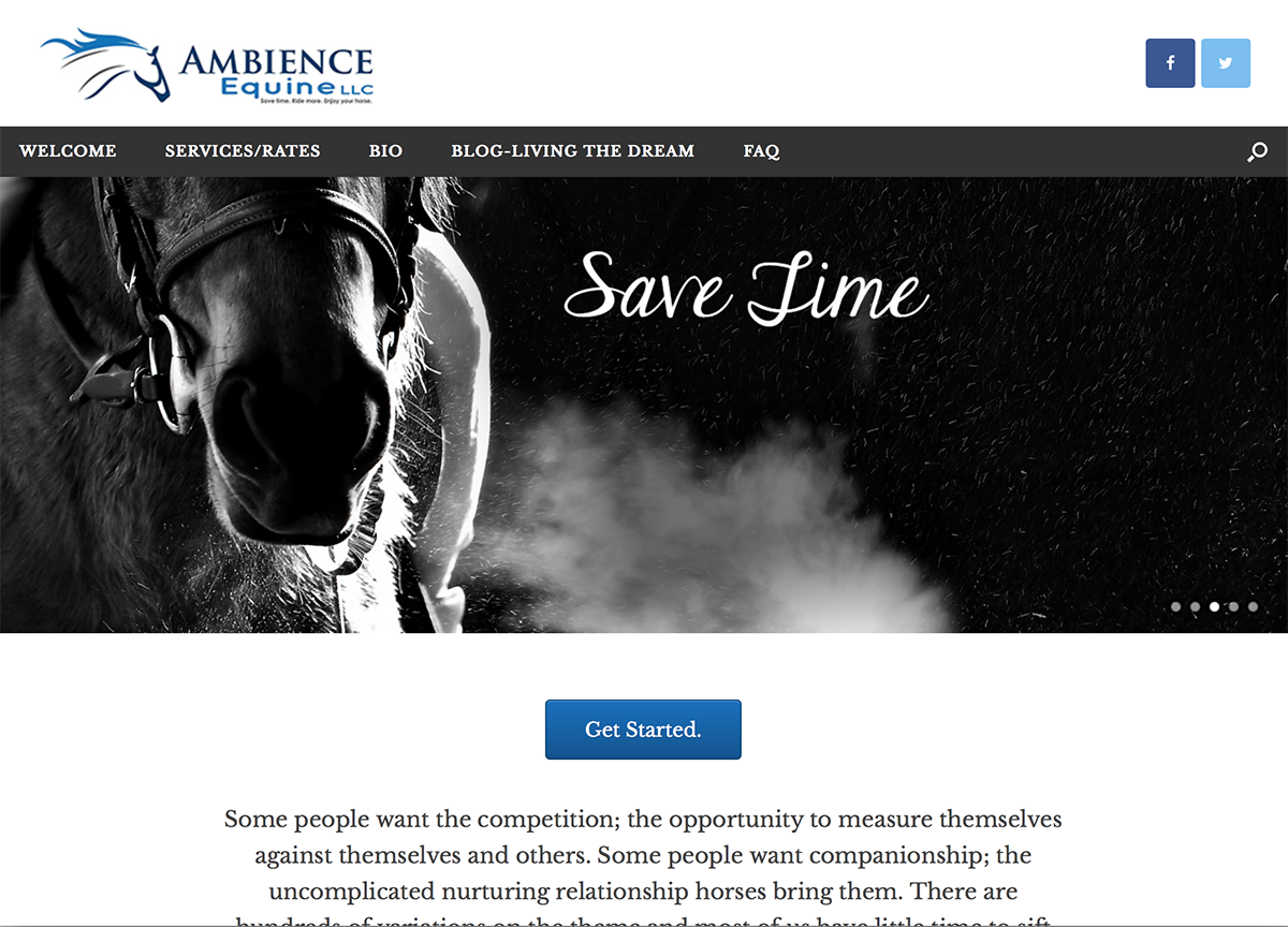 Ambience Equine, BigStar Creative
