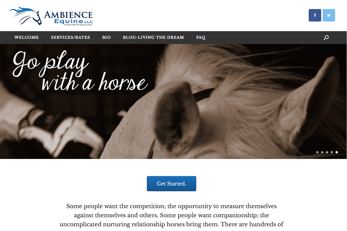 Ambience Equine, BigStar Creative, cover4