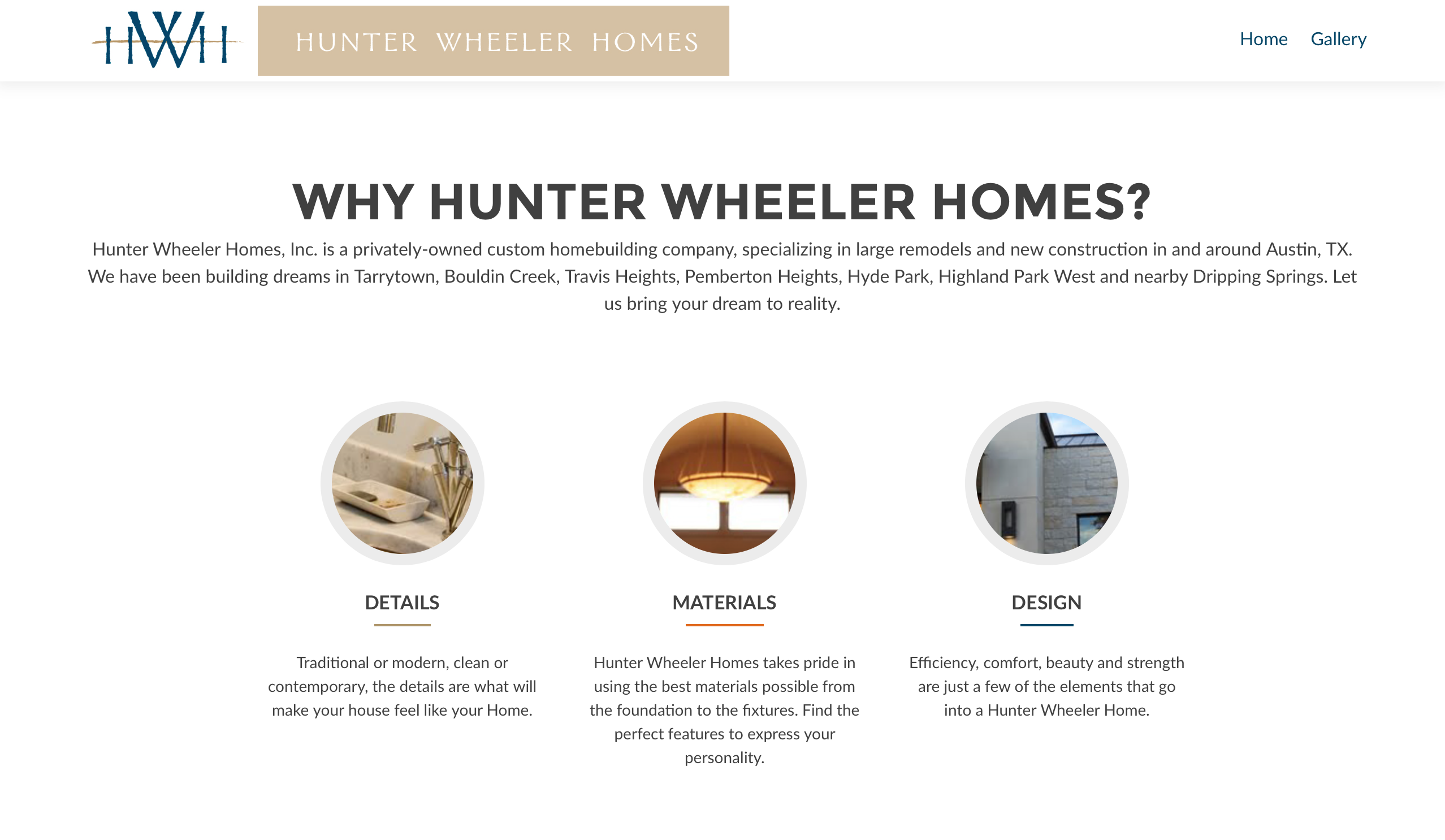 BigStar Creative, Hunter Wheeler Homes