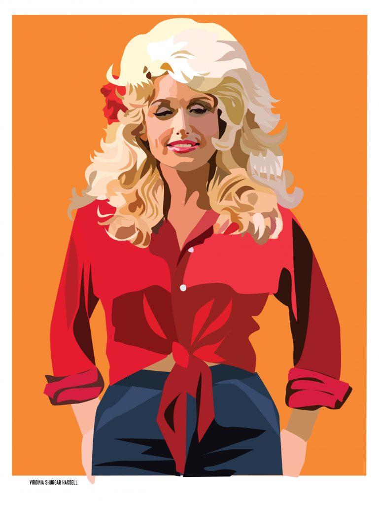Dolly Parton — Portrait