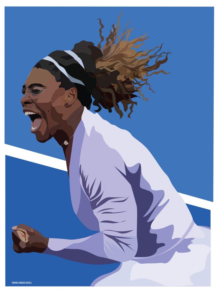 Serena Williams —Portrait