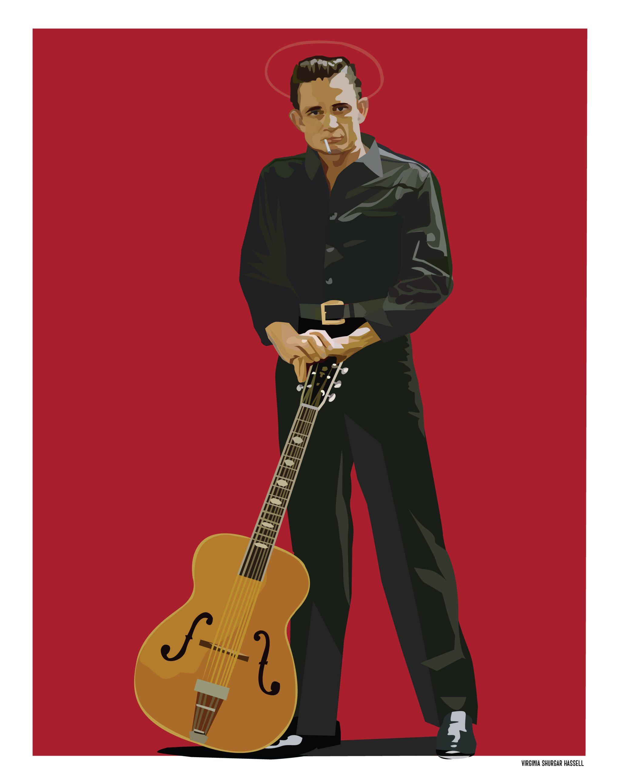 Johnny Cash — portrait
